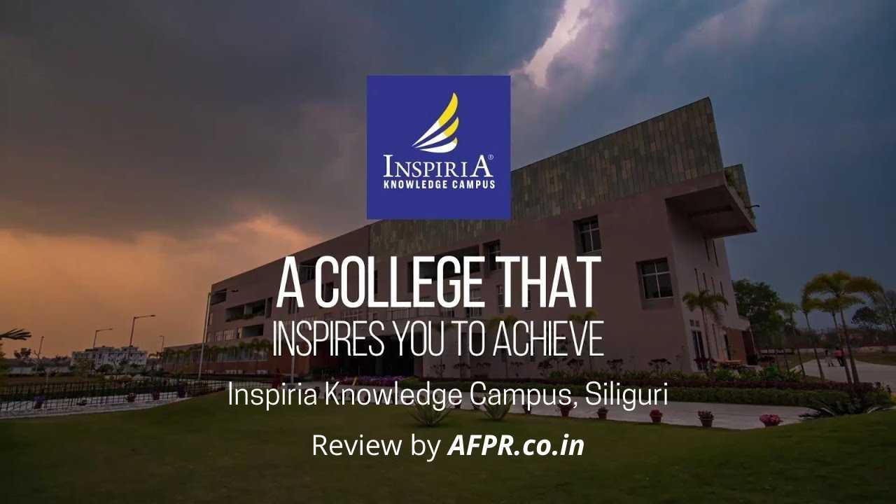 Inspiria Knowledge Campus Poster